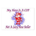 My COP Hero Postcards (Package of 8)