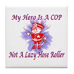 My COP Hero Tile Coaster