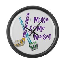 Make Some Noise! Large Wall Clock