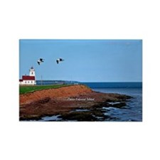 Prince Edward Island Lighthouse Rectangle Magnet