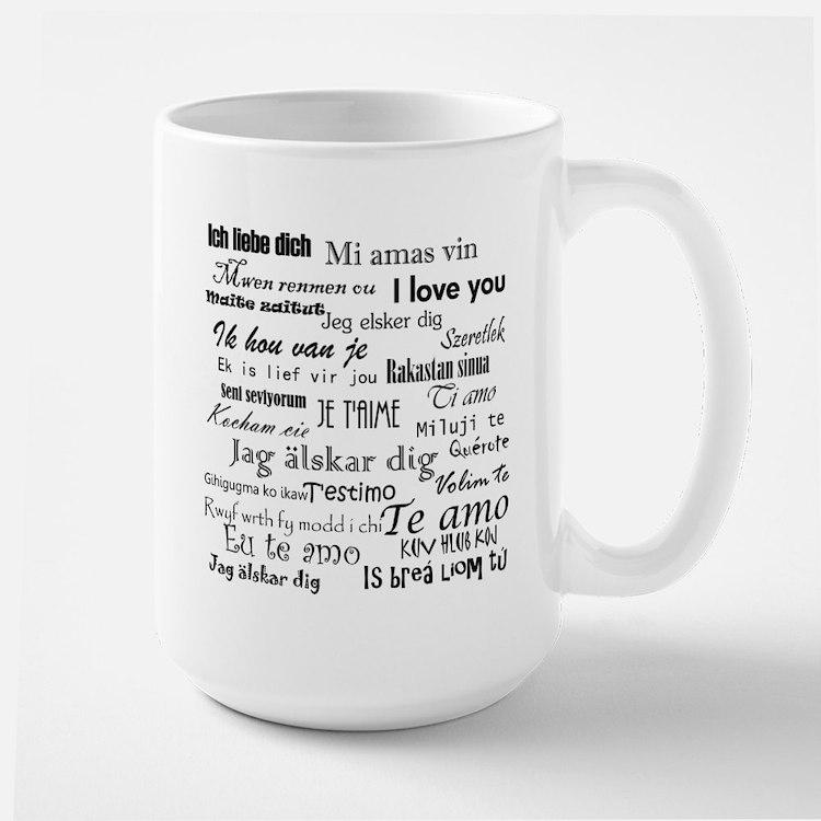 International I love you Mugs