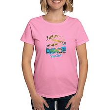 Lights Dance Optional Text Tee