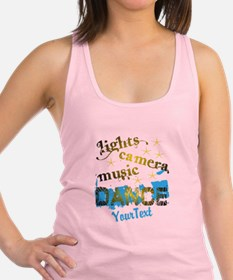 Personalized Dance Racerback Tank Top