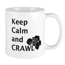 Keep calm and crawl for light t Mugs