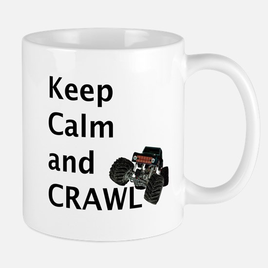 Keep calm and crawl for light t Mugs