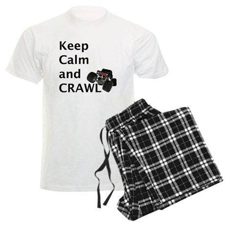 Keep calm and crawl for light t Pajamas