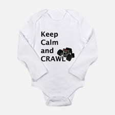 Keep calm and crawl for light t Body Suit