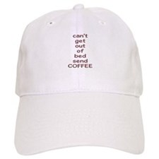 Send Coffee 3 Baseball Cap