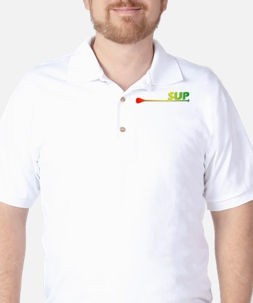 SUP - Rasta Golf Shirt