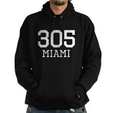 Distressed Miami 305 Hoodie