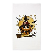 Bewitching Owl 3'x5' Area Rug
