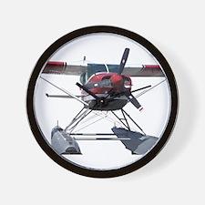 Bush Plane Wall Clock