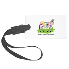 Beauty Comes In All Colors Luggage Tag