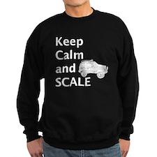 Keep Calm and SCALE Sweatshirt