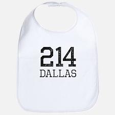 Distressed Dallas 214 Bib