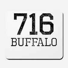Distressed Buffalo 716 Mousepad