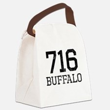 Distressed Buffalo 716 Canvas Lunch Bag