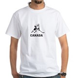 Canada Mens White T-shirts