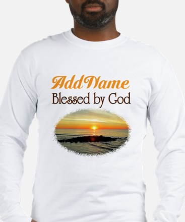 BLESSED BY GOD Long Sleeve T-Shirt