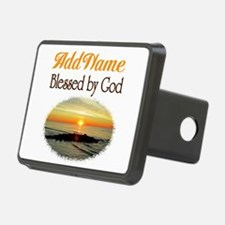 BLESSED BY GOD Hitch Cover
