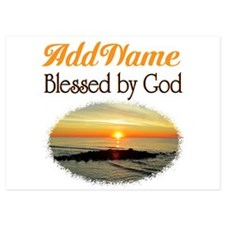 BLESSED BY GOD Invitations