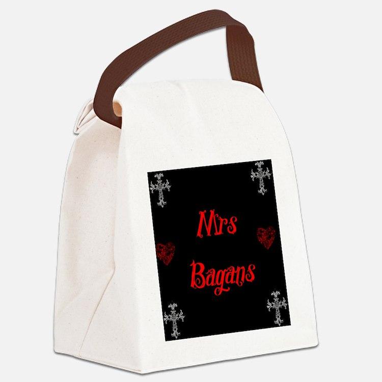 Mrs Bagans Canvas Lunch Bag