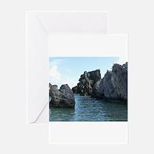 Horseshoe Bay Cove Bermuda Greeting Cards