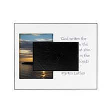 Martin Luther Nature quote Picture Frame