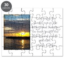Martin Luther Nature quote Puzzle