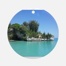 Bermuda Blue Ornament (Round)