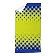 Vibrant Blue Green Beach Towel