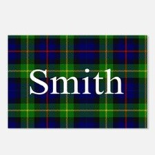 Smith Surname Tartan Postcards (Package of 8)