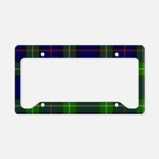 Smith Surname Tartan License Plate Holder