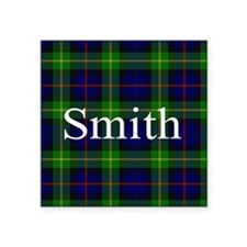 Smith Surname Tartan Sticker