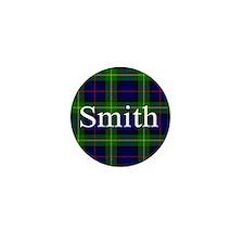 Smith Surname Tartan Mini Button