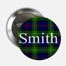 "Smith Surname Tartan 2.25"" Button"
