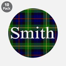 "Smith Surname Tartan 3.5"" Button (10 pack)"
