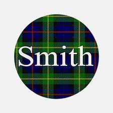 "Smith Surname Tartan 3.5"" Button"