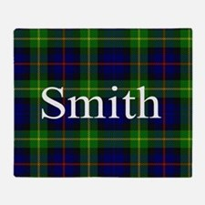 Smith Surname Tartan Throw Blanket