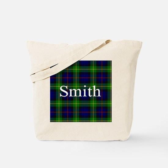 Smith Surname Tartan Tote Bag