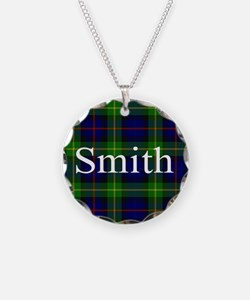 Smith Surname Tartan Necklace