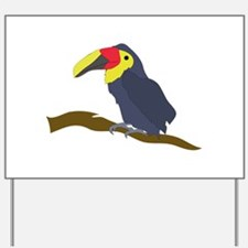 Toucan On A Limb Yard Sign