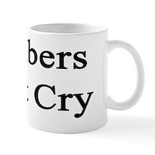 Plumbers Don't Cry  Mug