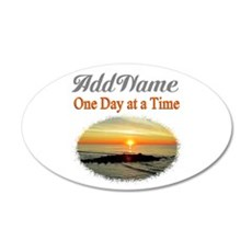 ONE DAY AT A TIME Wall Sticker