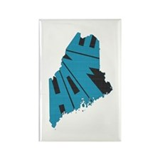 Maine Home Rectangle Magnet