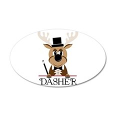 Dasher Wall Decal