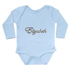 Elizabeth Long Sleeve Infant Bodysuit
