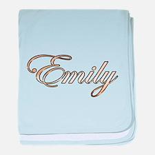 Emily baby blanket