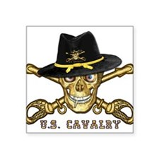 "Cute Cavalry Square Sticker 3"" x 3"""