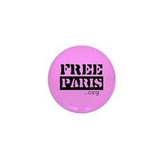 Free Paris (FreeParis.org) Mini Button